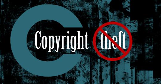 คำอธิบายภาพ : copyright-theft