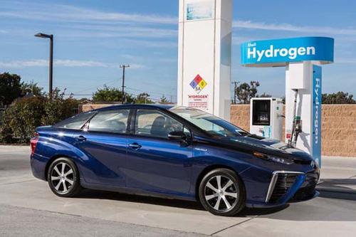รถพลังงานไอโดรเจน เติมน้ำแทนน้ำมัน (โตโยต้า มิราอิ)